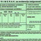"""Vozačima iz Srbije od 1. januara neće biti potreban """"zeleni karton"""""""