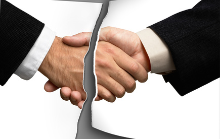 handshake  behind a solid white background.Great for any design.