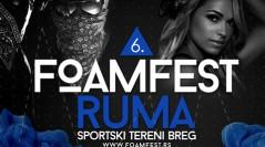 Za vikend Foamfest u Rumi