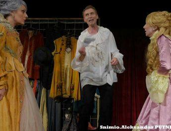 "Predstava ""Edmund Kin"" na sceni mitrovačkog pozorišta"