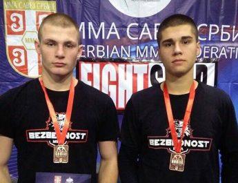 Dve medalje za Mitrovicu na Grappling Kupu Srbije