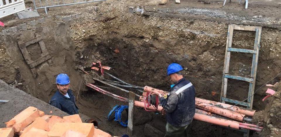 Rekonstrukcija vodovodne mreže, pripremite zalihe vode