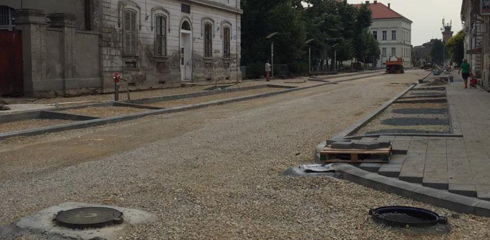 Gradonačelnik Sanader obišao radove u ulici Vuka Karadžića