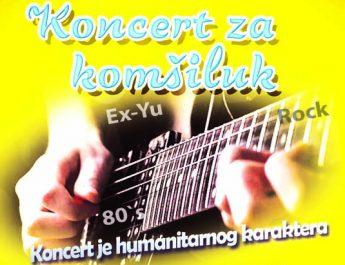 """Humanitarni koncerta """"Benda iz komšiluka"""""""