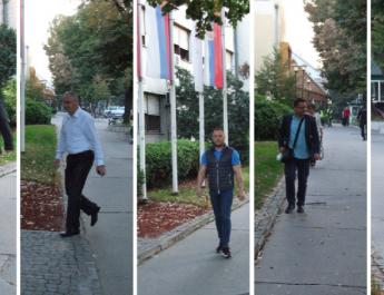 Evropska nedelja mobilnosti: Gradski čelnici na posao došli peške