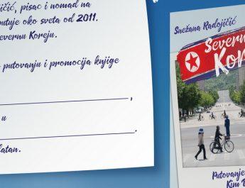 "Promocija knjige ""Severna Koreja – putovanje po zemlji Kim Džong Una"""