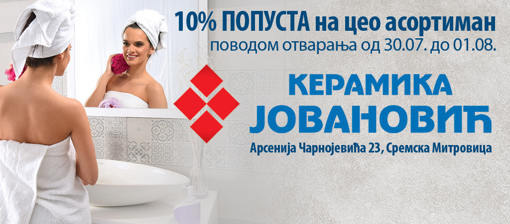 Salon Keramike Jovanović inspiriše i u Sremskoj Mitrovici
