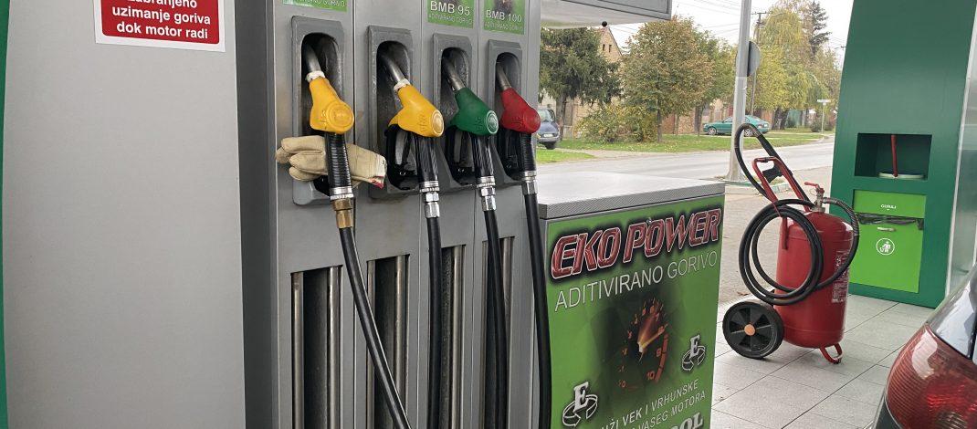 Benzinska pumpa Eko Petrol